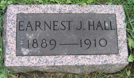 HALL, EARNEST J. - Linn County, Iowa | EARNEST J. HALL