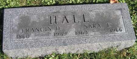 HALL, SARA E. - Linn County, Iowa | SARA E. HALL
