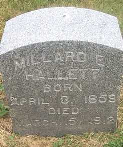 HALLETT, MILLARD E. - Linn County, Iowa | MILLARD E. HALLETT