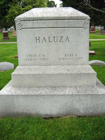 HALUZA, ROSE B. - Linn County, Iowa | ROSE B. HALUZA