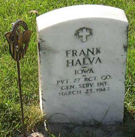 HALVA, FRANK - Linn County, Iowa | FRANK HALVA