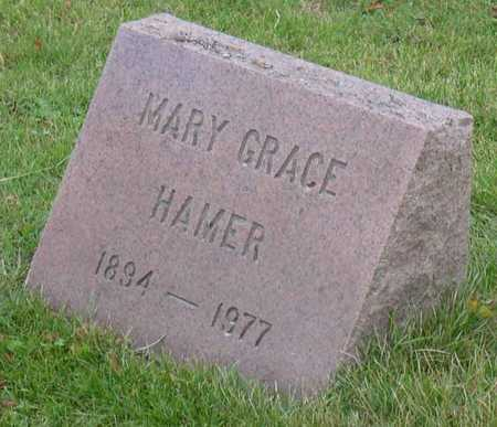 HAMER, MARY GRACE - Linn County, Iowa | MARY GRACE HAMER