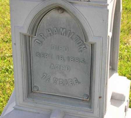 HAMILTON, D. R. - Linn County, Iowa | D. R. HAMILTON