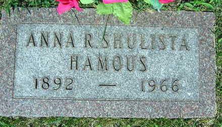 SHULISTA HAMOUS, ANNA R. - Linn County, Iowa | ANNA R. SHULISTA HAMOUS
