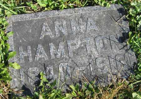 HAMPTON, ANNA - Linn County, Iowa | ANNA HAMPTON