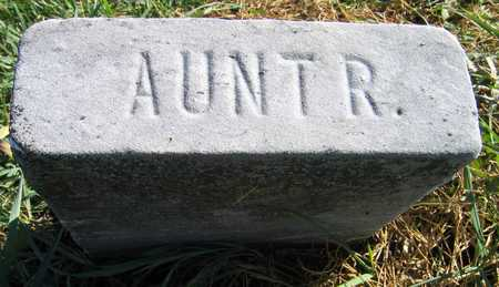 HAMPTON, AUNT R. - Linn County, Iowa | AUNT R. HAMPTON