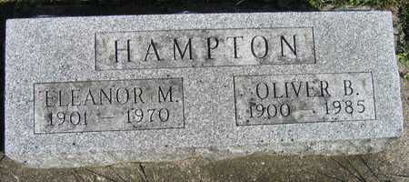 HAMPTON, ELEANOR M. - Linn County, Iowa | ELEANOR M. HAMPTON