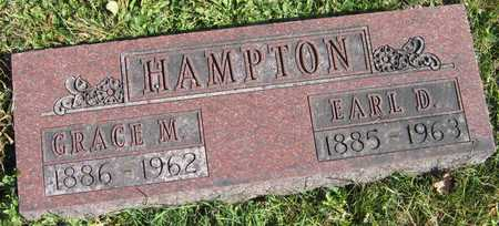 HAMPTON, GRACE M. - Linn County, Iowa | GRACE M. HAMPTON