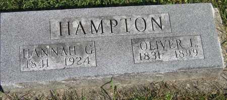 HAMPTON, OLIVER L. - Linn County, Iowa | OLIVER L. HAMPTON