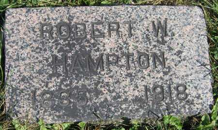 HAMPTON, ROBERT W. - Linn County, Iowa | ROBERT W. HAMPTON