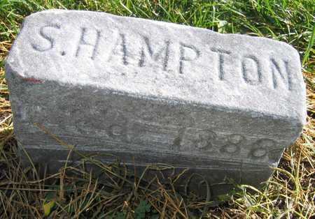 HAMPTON, S.  (SAMUEL  BETTS) - Linn County, Iowa   S.  (SAMUEL  BETTS) HAMPTON