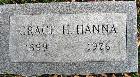 HANNA, GRACE H. - Linn County, Iowa | GRACE H. HANNA