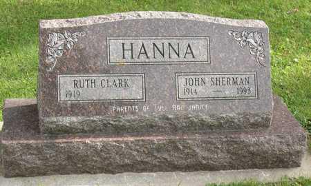 HANNA, JOHN SHERMAN - Linn County, Iowa | JOHN SHERMAN HANNA