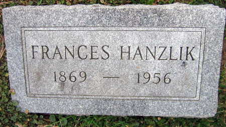 HANZLIK, FRANCES - Linn County, Iowa | FRANCES HANZLIK