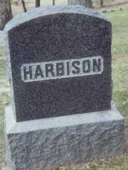 HARBISON, FAMILY STONE - Linn County, Iowa | FAMILY STONE HARBISON