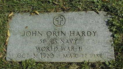 HARDY, JOHN ORIN - Linn County, Iowa | JOHN ORIN HARDY