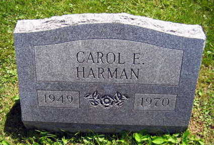 HARMAN, CAROL E. - Linn County, Iowa | CAROL E. HARMAN