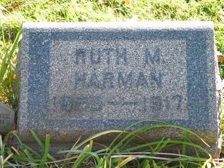 HARMAN, RUTH M. - Linn County, Iowa | RUTH M. HARMAN