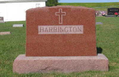 HARRINGTON, FAMILY STONE - Linn County, Iowa | FAMILY STONE HARRINGTON