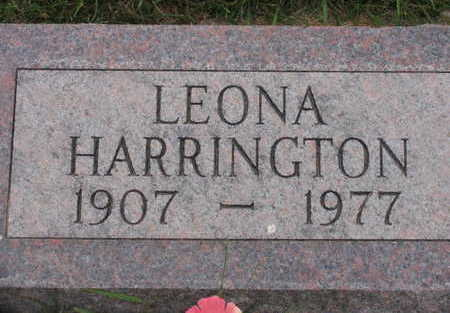 HARRINGTON, LEONA - Linn County, Iowa | LEONA HARRINGTON