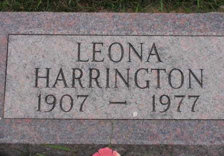 HARRINGTON, LEONA - Linn County, Iowa | LEONA HARRINGTON