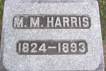 HARRIS, M. M. - Linn County, Iowa | M. M. HARRIS