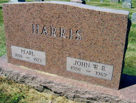 HARRIS, JOHN W. B. - Linn County, Iowa | JOHN W. B. HARRIS
