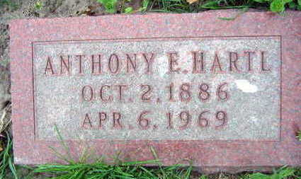 HARTL, ANTHONY E. - Linn County, Iowa   ANTHONY E. HARTL