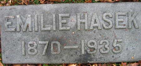 HASEK, EMILIE - Linn County, Iowa | EMILIE HASEK