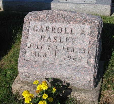 HASLEY, CARROLL A. - Linn County, Iowa | CARROLL A. HASLEY