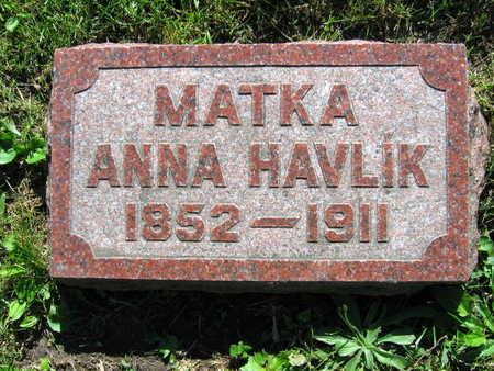 HAVLIK, ANNA - Linn County, Iowa | ANNA HAVLIK