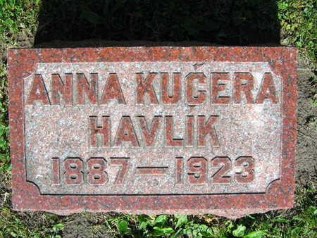 KUCERA HAVLIK, ANNA - Linn County, Iowa | ANNA KUCERA HAVLIK
