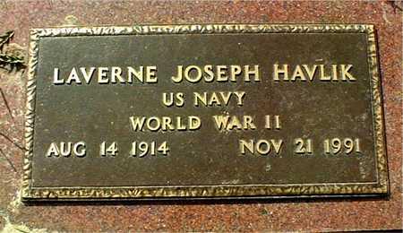 HAVLIK, LAVERNE JOSEPH - Linn County, Iowa | LAVERNE JOSEPH HAVLIK