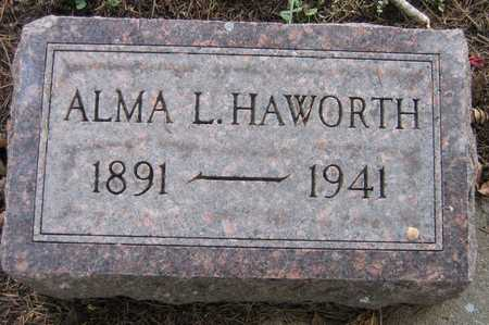 HAWORTH, ALMA L. - Linn County, Iowa | ALMA L. HAWORTH