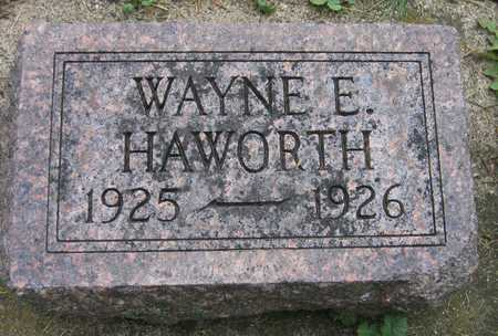 HAWORTH, WAYNE E. - Linn County, Iowa | WAYNE E. HAWORTH