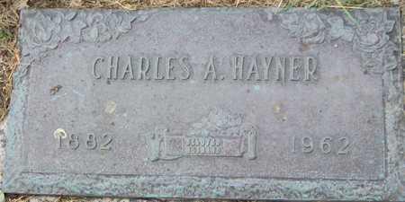 HAYNER, CHARLES A - Linn County, Iowa | CHARLES A HAYNER