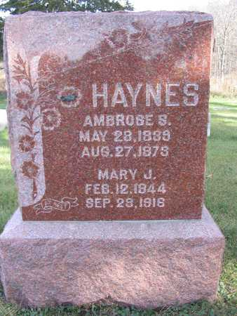 HAYNES, MARY J. - Linn County, Iowa | MARY J. HAYNES