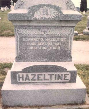 HAZELTINE, EDWARD D. - Linn County, Iowa | EDWARD D. HAZELTINE