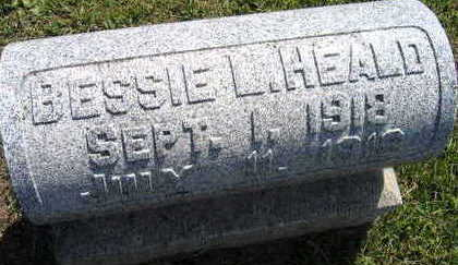 HEALD, BESSIE L. - Linn County, Iowa | BESSIE L. HEALD
