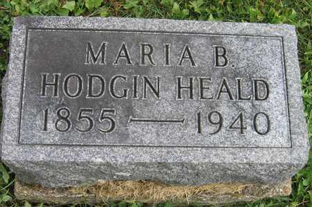 HODGIN HEALD, MARIA B. - Linn County, Iowa | MARIA B. HODGIN HEALD