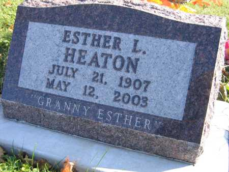HEATON, ESTHER L. - Linn County, Iowa | ESTHER L. HEATON