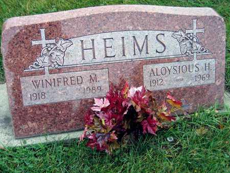 HEIMS, ALOYSIOUS H. - Linn County, Iowa | ALOYSIOUS H. HEIMS