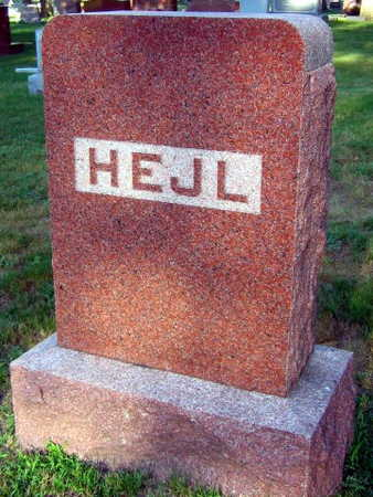 HEJL, FAMILY STONE - Linn County, Iowa | FAMILY STONE HEJL
