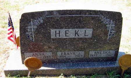HEKL, FRANK J. - Linn County, Iowa | FRANK J. HEKL