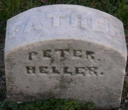 HELLER, PETER - Linn County, Iowa | PETER HELLER