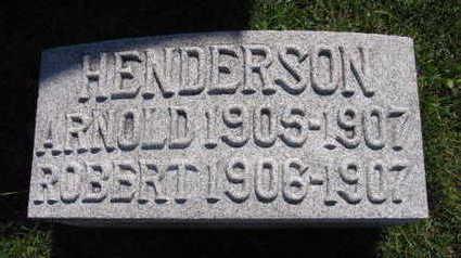 HENDERSON, ROBERT - Linn County, Iowa | ROBERT HENDERSON