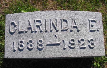 HENDERSON, CLARINDA E. - Linn County, Iowa | CLARINDA E. HENDERSON