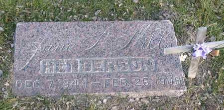 MILLS HENDERSON, JUNE A. - Linn County, Iowa | JUNE A. MILLS HENDERSON
