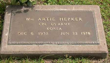 HEPKER, WM. ARTIE - Linn County, Iowa | WM. ARTIE HEPKER