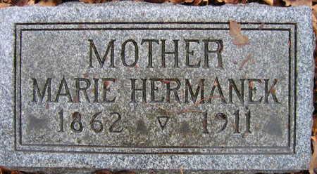 HERMANEK, MARIE - Linn County, Iowa | MARIE HERMANEK